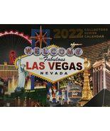 2022 13 Month Las Vegas Wall Calendar MGM Caesars  - $4.99