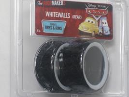 Disney CARS 2 Ridemakerz Whitewalls REAR Luigi's Tires & Rims - $7.83
