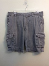 96644fc67937a7 Urban Pipeline UP Men s Cargo Shorts Size 40 Gray 100% Cotton -  13.09