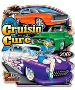 Cruisin' for a Cure 2018 Car Event Plasma Cut Metal Sign - $35.00