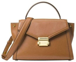 Michael Kors Womens M Group Satchel Brown - $145.00
