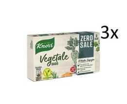 3x Knorr Dado Cathedral Zero SALE Soup Cube Zero Salt vegetable broth 8 ... - $18.30