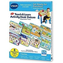VTech Touch And Learn Multi Curriculum Activity Desk Deluxe Expansion Pack - $9.99