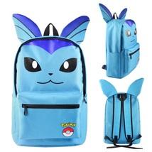 9835155bc884 Pokemon backpack schoolbag daypack blue vaporeon. Previous. Pokemon Game  Theme ...