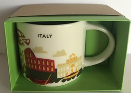 Starbucks You Are Here Collection Italy Ceramic Coffee Mug New With Box - $55.43
