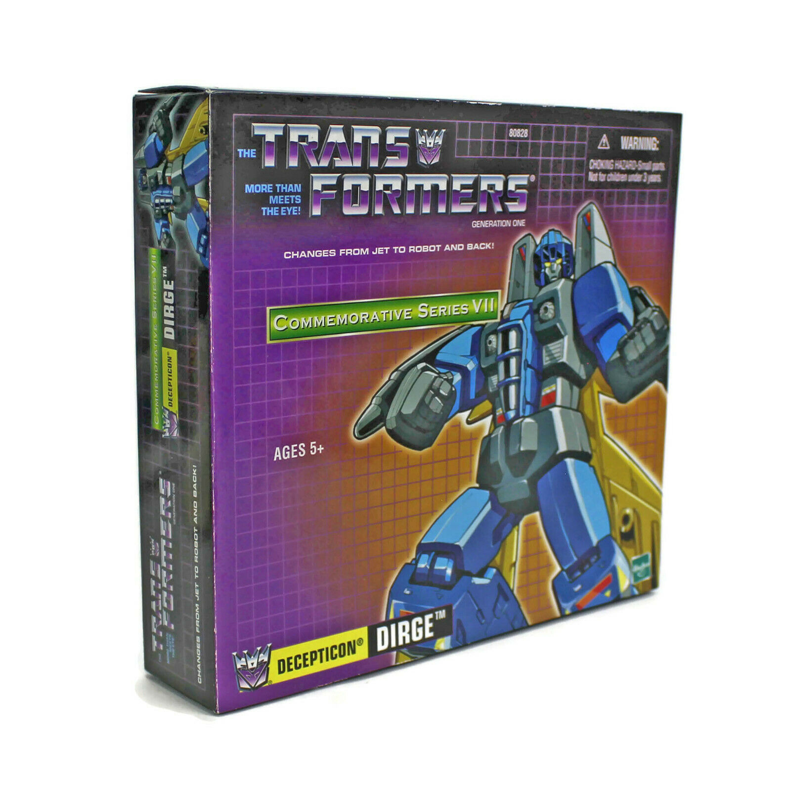Transformers G1 | DIRGE | Commemorative Series 7 VII | DECEPTICON | Hasbro 2003