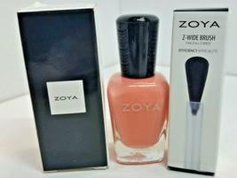 Zoya Nail Polish TULIP .5 oz +  Z-WIDE BRUSH - $12.34