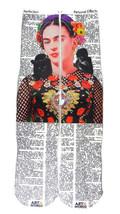 Art N Wordz Apparel Frida Kahlo Nature Dictionary Print Pop Art Unisex S... - $19.99