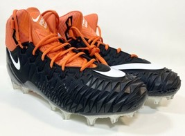 NEW Nike Force Savage Elite TD Football Cleats Black Orange Sz 14.5 AJ66... - $19.79