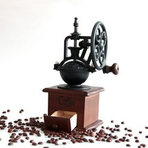 Ferris Wheel Design Vintage Coffee Mill Manual Hand Bean Coffee Grinder - $79.76