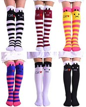 Laurelor Kid Littel Girl Knee High (One Size Fits Most 6 Pairs Color 3) - $26.29