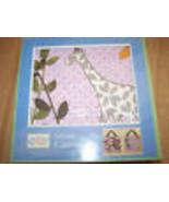 Selinda Canvas Art Cocalo Baby Nursery Decor Giraffe & Flowers 2 Wall Ha... - $24.00