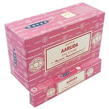 Satya Aaruda Sticks Incense Natural Fragrance Hand Rolled Indian Agarbatti Pack  - $21.28