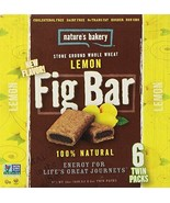 Nature's Bakery Whole Wheat Fig Bars - Lemon 2oz. - 6ct twin packs - $15.83
