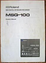 Roland MSQ-100 Midi Digital Keyboard Rekorder / Sequenzer Original Owner... - $29.68