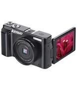 Digital Camera Vlogging Camera, KENUO FHD 1080p Video Camera MAX 24.0MP ... - $109.91