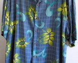 NEW Tommy Bahama Silk Camp Shirt~M~Floral~RARE Design~Guaranteed Authentic~NWOT