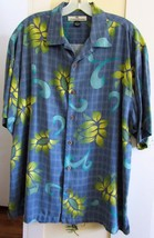 NEW Tommy Bahama Silk Camp Shirt~M~Floral~RARE Design~Guaranteed Authent... - $55.99