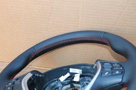 12-18 BMW F30 Sport Steering Wheel w/ Cruise BT Volume W/O Paddles -RED STITCH image 4