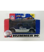 Fleer 2005 Hummer H2 New England Patriots Hummer H2 1:43 Scale with Fact... - $8.88