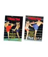 Muay Thai Kickboxing Master Sken 2 DVD Set martial arts pads combos figh... - $35.00