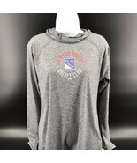 NHL New York Rangers Women's Hooded Performance Pullover Size L (12/14) ... - $32.99