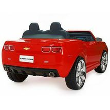 Kids Battery Operated Official NPL Chevrolet Racing Camaro 12 Volt Ride On Car image 6
