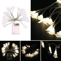(warm white)20pcs LED String Light Lamp Christmas Tree Wedding Party Out... - $20.00