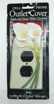 Ibis Orchid Design 33007 Cell Phone Charger Outlet Cover Duplex Single Lily image 1