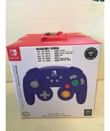"Nintendo Switch Super Smash Bros. Purple Gamecube Controller ""NEW/SEALED"" - $38.69"
