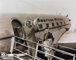 Babe Ruth & Wife 8X10 Photo New York Yankees Ny Baseball Picture Boarding Plane - $3.95
