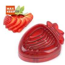 Strawberry Slicer Desserts Kitchen slicer Fruit Carving Knife Salad Cutter - $5.52