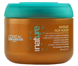 L'oreal Serie Nature Masque Aux Huiles Treatment 6.7 Oz / 200 Ml - $17.81