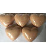 The Body Shop CRANBERRY Heart Bar Solid Soap 3.5 Oz New *Not Perfect* x5 - $49.45