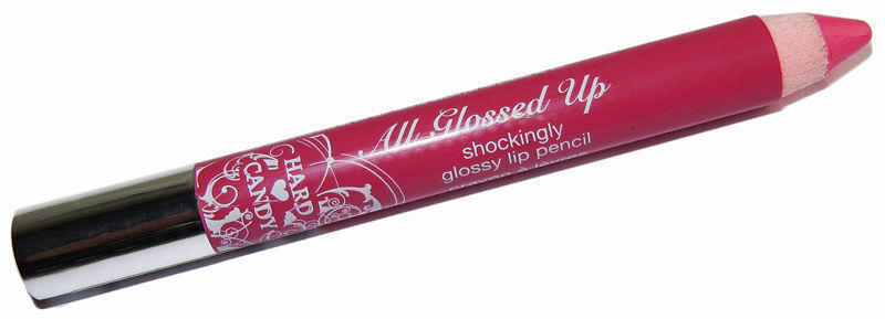 Hard Candy All Glossed Up Shockingly Glossy Lipstick Pencil Crayon 484 POUT x 3 - $10.84