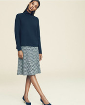 Ann Taylor Spacedye Flared Knit Skirt, Grey Space Dye, Rayon Lycra, NWT - £49.49 GBP