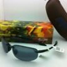 MAUI JIM Sunglasses HO'OKIPA READER +2.0 G 807-0220 Black /Grey Polarized Lenses