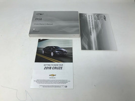 2018 Chevrolet Cruze Owners Manual Handbook Set OEM Z0A0665 - $39.59