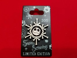 Disney Pin Christmas Holiday Season's Screamings Jack Skellington 2015 L... - $24.99