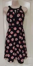ELLE™ Salsa Floral A-Line Dress - Women's Sz 4, 10-14 NWT MSRP$54 ADORABLE - $26.45
