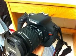 Canon EOS Rebel T3i 600D 18MP 1080p DSLR Camera W/ 18-55mm Lens - $299.00
