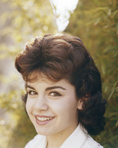 Annette Funicello smiling 1960's portrait in white blouse 16x20 Canvas - $69.99