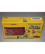 New Nintendo 3DS XL Super  Mario Bros 2 Limited Edition Red Handheld Gam... - $395.99