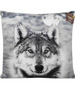 Wildlife Throw Pillows Choose Either Deer Or Wolfe - $24.00