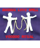 BINDING LOVE SPELL, Voodoo Love Spell Ritual, Bind your lover to you, haunted  - $47.00