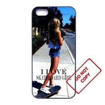 Skateboard GirlLG G4 case Customized Premium plastic phone case, - $12.86