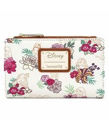 Loungefly Disney Princesses Floral Faux Leather Wallet  - $135.99