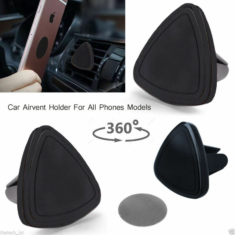 Car Universal Air Vent Magnetic Mount Holder for all Mobile Phone GPS Sat Nav