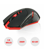 2000 DPI 2.4g Wireless LED Red-Light Gaming Mouse w/ USB Receiver 7 Buttons - $21.70