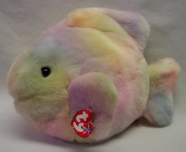 "TY Beanie Buddies CORAL THE COLORFUL FISH 11"" Plush STUFFED ANIMAL Toy w... - $19.80"